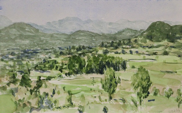 Sketch for Napa Valley