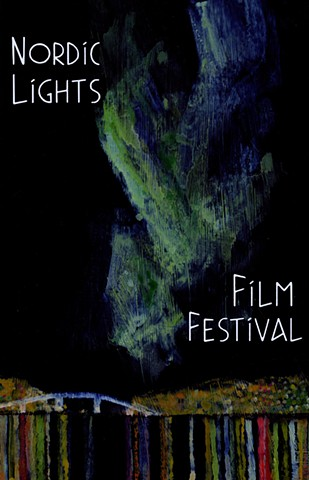 Nordic Lights Film Festival poster.
