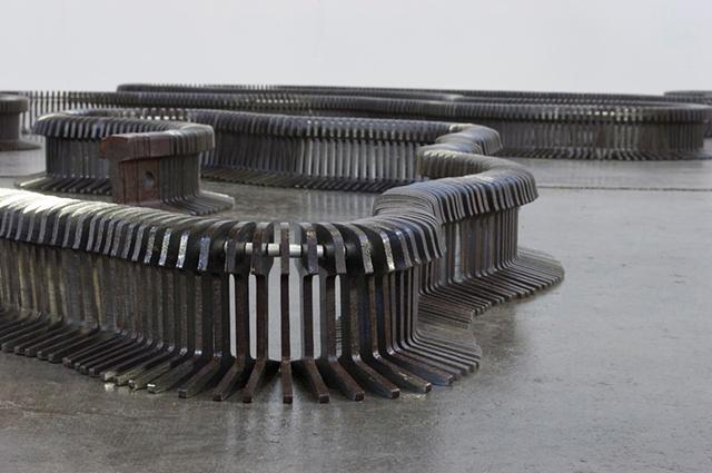Contemporary Steel Sculpture