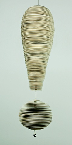 Jann Nunn  Contemporary Paper Sculpture