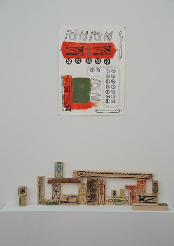 Tool Wagon Print and Blocks