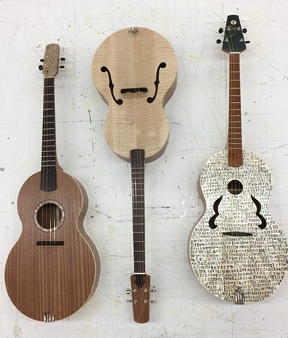 Tenor Guitars made from board games
