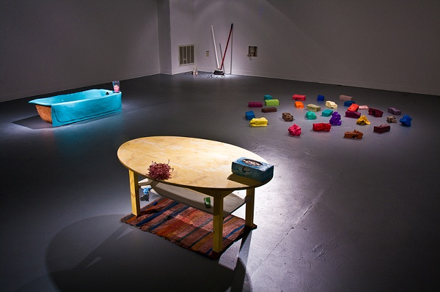 Strangely Familiar, Installation view