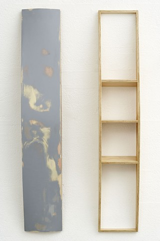 GT III   Plywood, Masonite, Polymer Resin, Automotive Acrylic, Estapol  113 x 61 x 13 cm