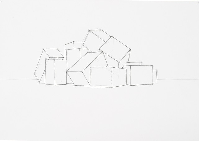 box set 7 graphite on paper