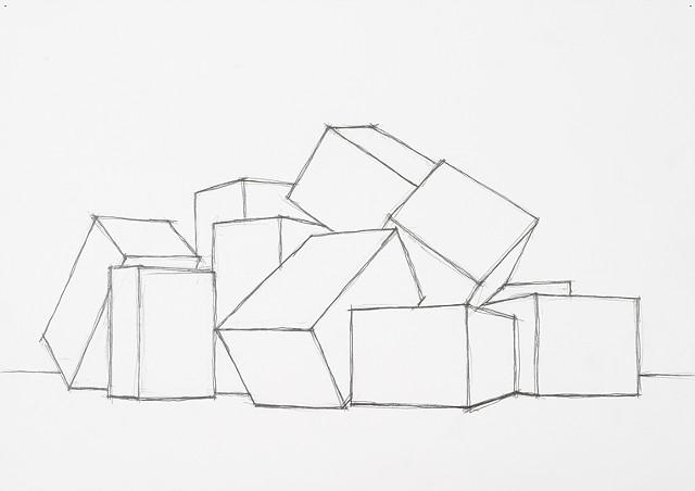box set 2 graphite on paper
