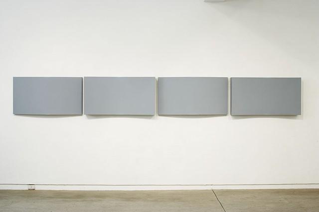 Section   Plywood, Masonite, Polymer Resin, Automotive Acrylic 60 x 464 x 15 cm