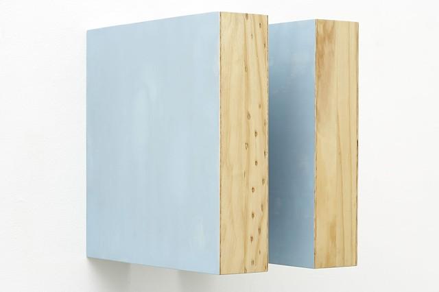 GT IV   Plywood, Pine, Masonite, Automotive Acrylic 40 x 28 x 39.5 cm