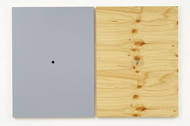 Punt 2005 Plywood, Pine, Masonite, Polymer Resin, Automotive Acrylic 122 x 180