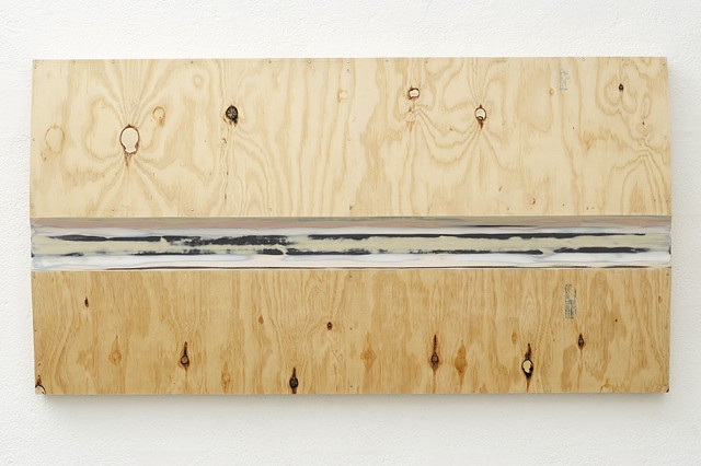 GTW   Plywood, Masonite, Polymer Resin, Automotive Acrylic, Graphite, Galvanised Nails 62.5 x 118 x 10 cm