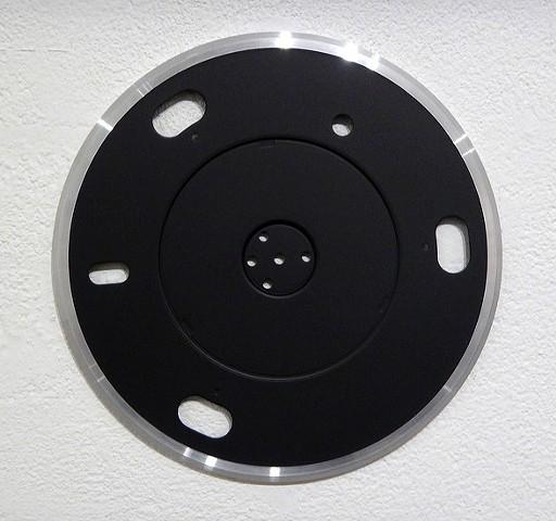 TT42 aluminium and auto acrylic 305 mm dia. x 5mm