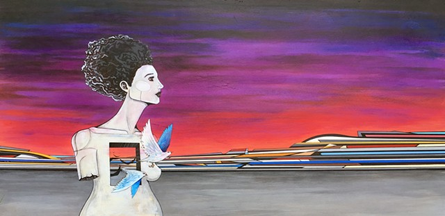 surreal landscape surrealism modern surrealism pop surrealism pin up