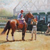 At the Starting Gate  •sold•