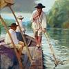 Batteau on the James River