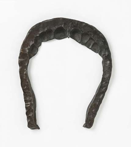 Andrew Mowbray bronze horseshoe