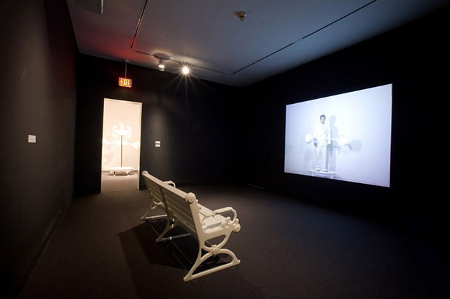 Tempest Prognosticator: Installation of Video from DeCordova Museum