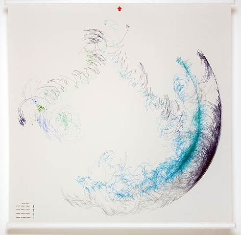 Wind Driven Drawing 5
