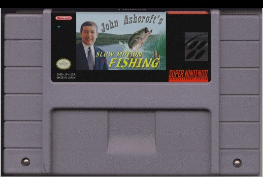 John Ashcroft's Slow Motion Fishing