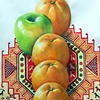 Oranges with Green Apple
