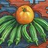 Yellow Tomato With Okra
