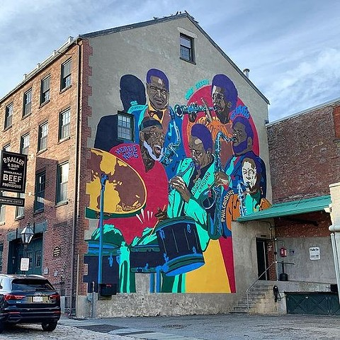 Jazz Mural Completed