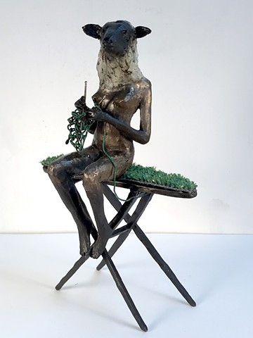 MIXED MEDIA SCULPTURE