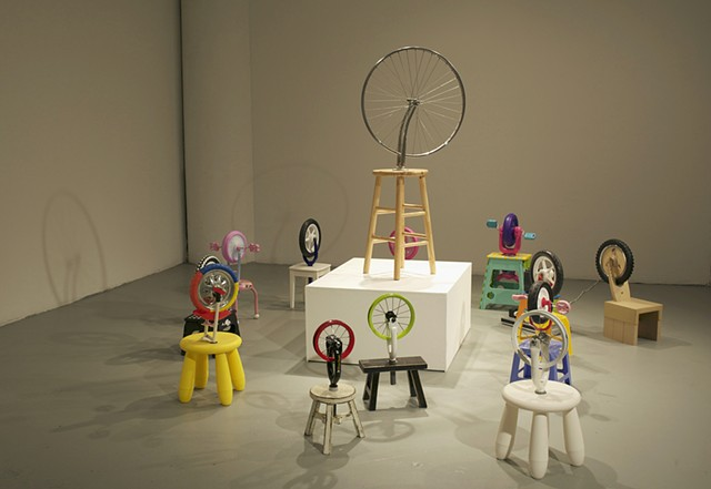 Children of Duchamp, ongoing project beginning 2009