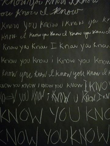 i know you know i know you know i know