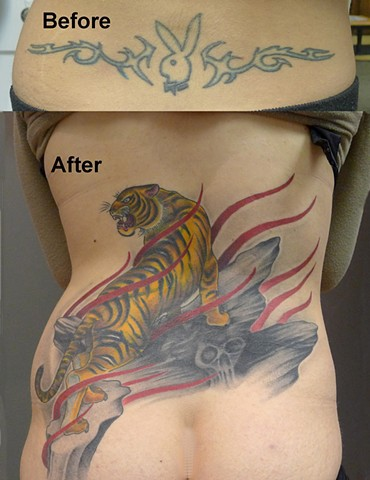 Tiger Coverup