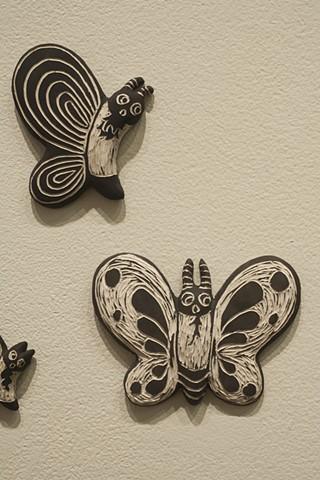 Meditation Bear: Inner Bearing (butterflies detail)