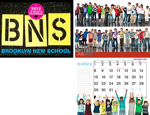 Brooklyn New School calendar 2012