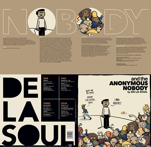 De La Soul album package