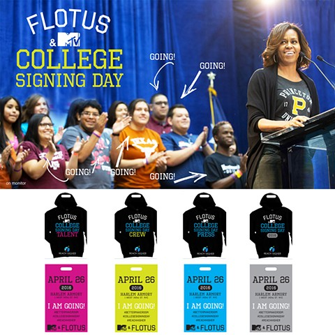 FLOTUS & MTV College Signing Day