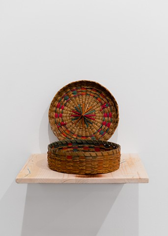 Unknown Wabanaki Artist and Cultural Bearer, Flat Basket