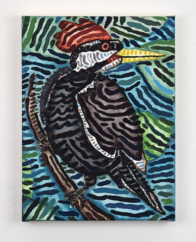 Untitled (woodpecker)