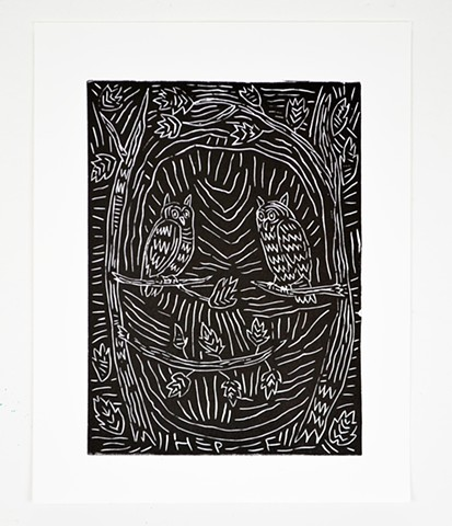Untitled Relief Print