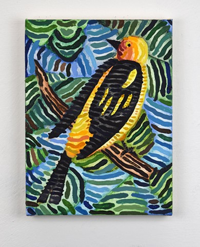 Untitled (goldfinch)