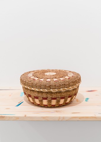 Jennifer Neptune, Fancy Basket with Lid