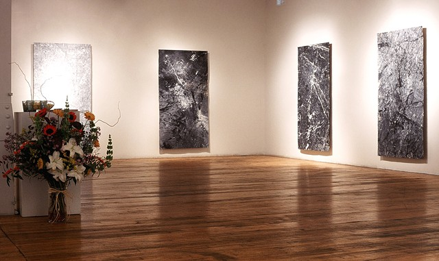 Breath of Space Series, Paintings as Installation