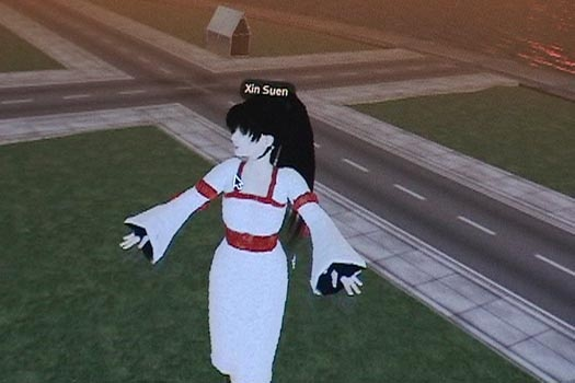 Xin in Second Life
