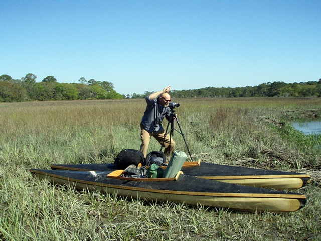 Richard Sudden directing and filming Waters of Oblivion at Jekyll Island, Georgia