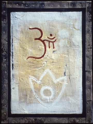 Om and Lotus