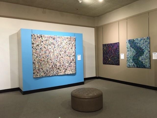 National Quilt Museum Solo Exhibit~ Corner Gallery