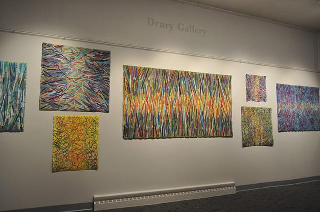 Portage Exhibit- North Wall Maximum Voltage, Aurora Winds, Cold Spark