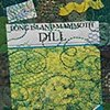 34  Seed Packet: Dill Fiber: Framed Contemporary Art Quilt