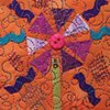 Orange Purple Candy Flower SOLD