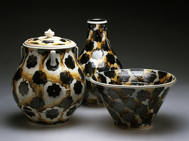 Vase, Bowl, Jar Group