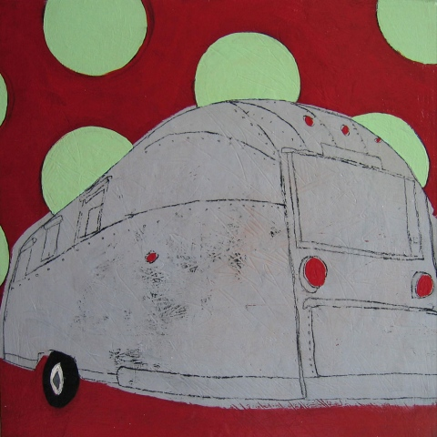 Polka Dot Airstream