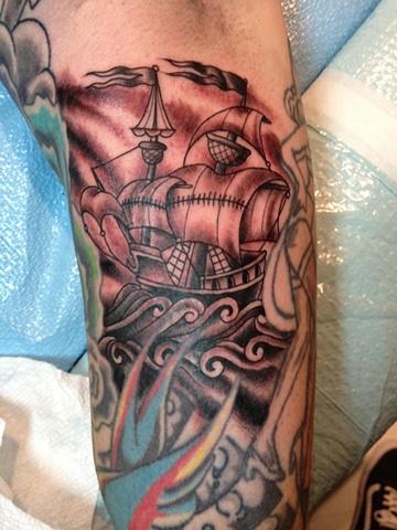 sailiing ship