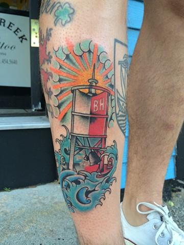 bell buoy tattoo